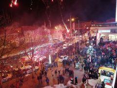 Isparta AK Parti'de erken zafer kutlamaları