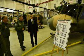TBMM Milli Savunma Komisyon Üyesi Gökgöz, Kara Havacılık Okulu'nda incelemelerde bulundu