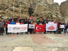 TDF'nin Yaz Dağcılık Eğitim Kampı Isparta'da başladı