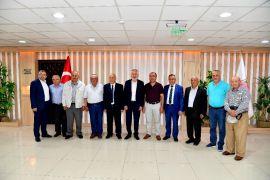 Başkan Başdeğirmen Alevi Bektaşi dedelerini ağırladı