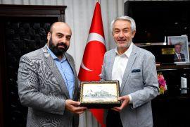 Başkan Başdeğirmen, Yeşilay Genel Sekreteri Dursun'u ağırladı