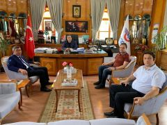 Başkan Gök'ten TCDD'ye Tarihi Eğirdir Garı ziyareti