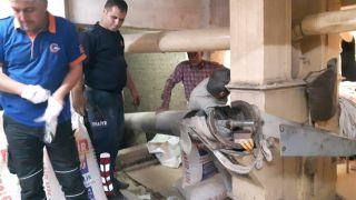 Fabrikada korkunç olay: Kolunu makineye kaptırdı