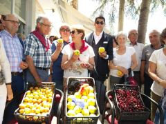 İspanyol turistler Gelendost ve ürünlerine hayran kaldı