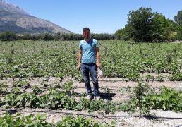 Isparta'da 34 üreticiye 402 bin lira bireysel sulama sistemi desteği