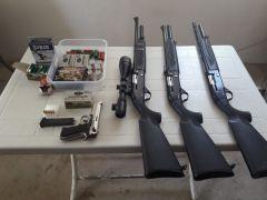 Isparta'da silah kaçakçılığı operasyonu: 2 gözaltı