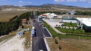 Isparta Belediyesi OSB'yi asfaltladı