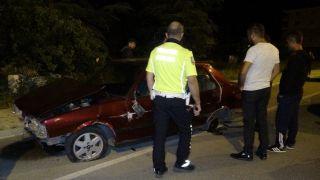 Isparta'da ilginç kaza: otomobil var, sürücüsü yok
