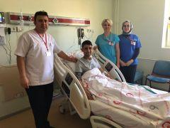 Isparta'da koltuk altı operasyonu ile kalp kapağı tamir edildi