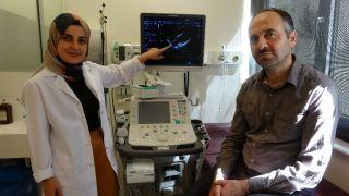 Kalbinin delik olduğundan şüphelenilen hastanın doğuştan kalp zarının bulunmadığı ortaya çıktı