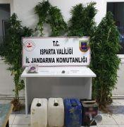 Isparta'da zehir operasyonu: 2 tutuklama