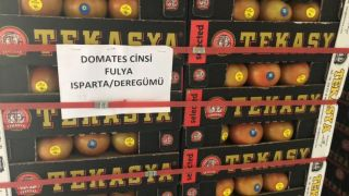Isparta'dan 3 ülkeye 521 tonluk domates ihracatı