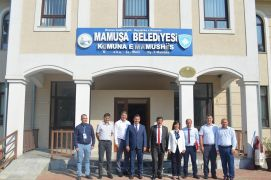 Kosova'nın Mamuşa beldesine, tarımda üretim desteği