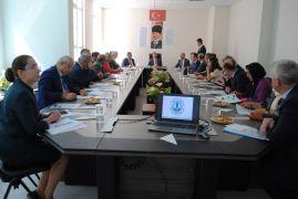 Eğirdir'de, İlçe Hayat Boyu Öğrenme, Halk Eğitimi Planlama ve İşbirliği Komisyonu Toplantısı