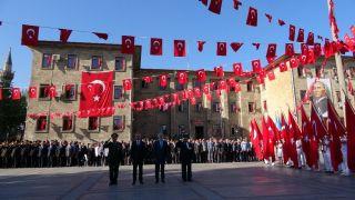 Isparta'da 19 Eylül Gaziler Günü kutlandı