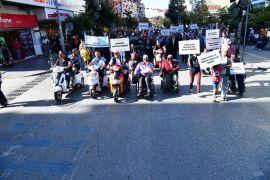 Isparta Belediyesi öncülüğünde farkındalık yürüyüşü