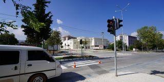 Kaza kavşağına sinyalizasyon sistemi