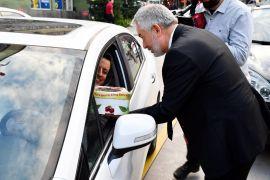 Başkan Başdeğirmen sokakta Gelendost elmasını tanıttı