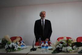 Eğirdir MYO'da ilk ders, Başkan Başdeğirmen'den