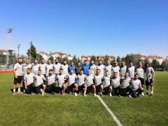 Isparta'da TFF Grassroots C Futbol Antrenörlük Kursu