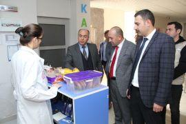 Isparta'da gıda üretim ve satışı yapan işletmelerle okul kantini denetimi
