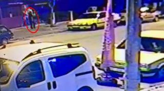 Isparta'da talihsiz adamın 3 metre yüksekten düşüp öldüğü anlar kamerada
