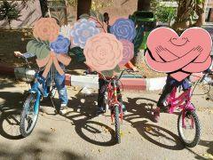 Isparta'da yetim çocuklar bisikletle buluşturuldu