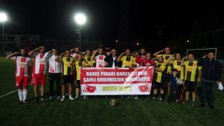 Isparta basınından Mehmetçik'e destek