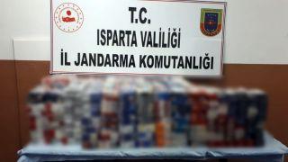 Jandarma hırsızı yakaladı, bin 658 paket sigara ele geçirdi