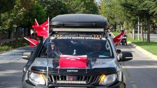 Off-road'culardan Barış Pınarı Harekatı'na destek konvoyu