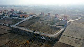 Akkent'in alternatif yolu asfalta kavuşturuldu