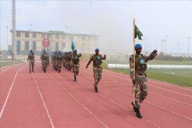 Isparta'da 'Komando' olan yabancı askerlere Somali'de 'Türk' usulü askeri tören