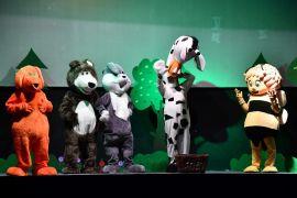 Isparta Belediyesi Şehir Tiyatrosu'ndan çocuklara Neşeli Orman Müzikali