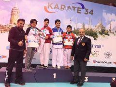 Ispartalı Karateciler, Karate 34 Süper Ligi'nden 10 madalya ile döndü