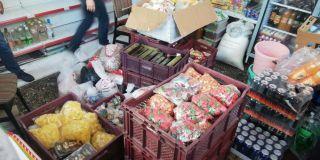 Polisten kaçak çay, şeker, makarna, pirinç operasyonu: 4 gözaltı
