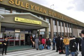 SD Havalimanı'nda 10 ayda, 134 bin 898 yolcuya hizmet verildi
