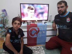 Baba-oğlun Trabzonspor sevdası