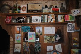 Eğirdir'de 22 ülkeden posta ile gelen çalışmalar sergileniyor