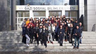Erasmus projeleriyle Türk kültürünü yakından tanıttılar