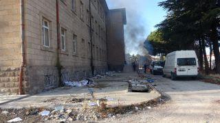 Fuhuş yapıldığı iddiasıyla gündeme gelen eski hastane binası muhafaza altına alındı