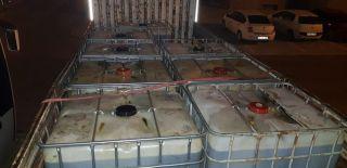 Isparta'da 6 bin 500 litre kaçak akaryakıt ele geçirildi