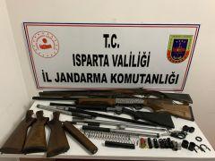 Isparta'da 700 kilo kerevit ele geçirildi: 9 gözaltı