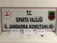 Isparta'da Jandarma'dan uyuşturucu operasyonu: 9 gözaltı