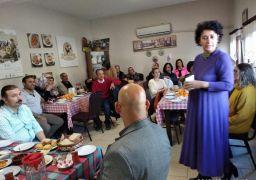 Isparta'daki kadın üreticilere teknik gezi