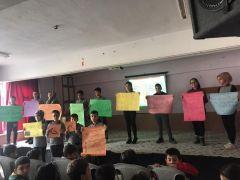 Köy okullarında işaret dili etkinlikleri