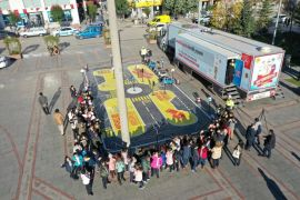Mobil Trafik Eğitim Tırı Isparta'da