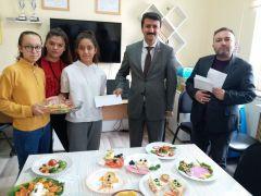 Okulda kahvaltı ve tabak tasarım yarışması