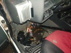 Trafik canavarının ehliyetsiz ve alkollü gece mesaisinde faciadan dönüldü