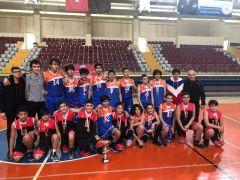 Ülkü Ortaokulu, basketbolda Isparta şampiyonu oldu