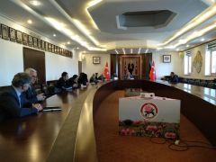 Isparta'da hayvanları koruma kurulu toplantısı